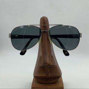 Avalon Black/Silver Aviator Sunglasses Frames